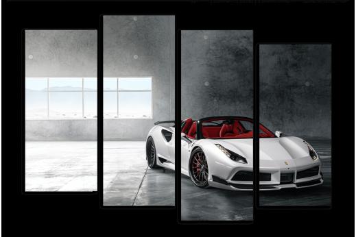 Модульная картина Ferrari 488